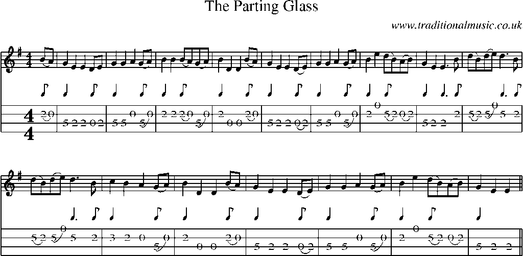 sheet_music_notes_the_parting_glass.gif. The Parting Glass abc mucic notes