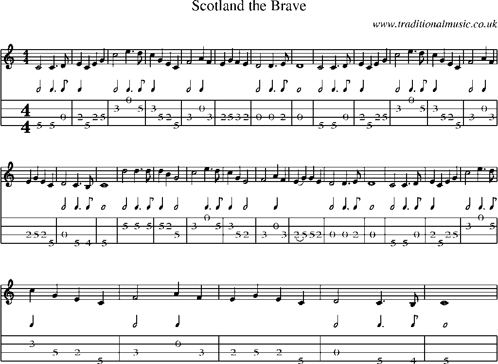 The song the brave