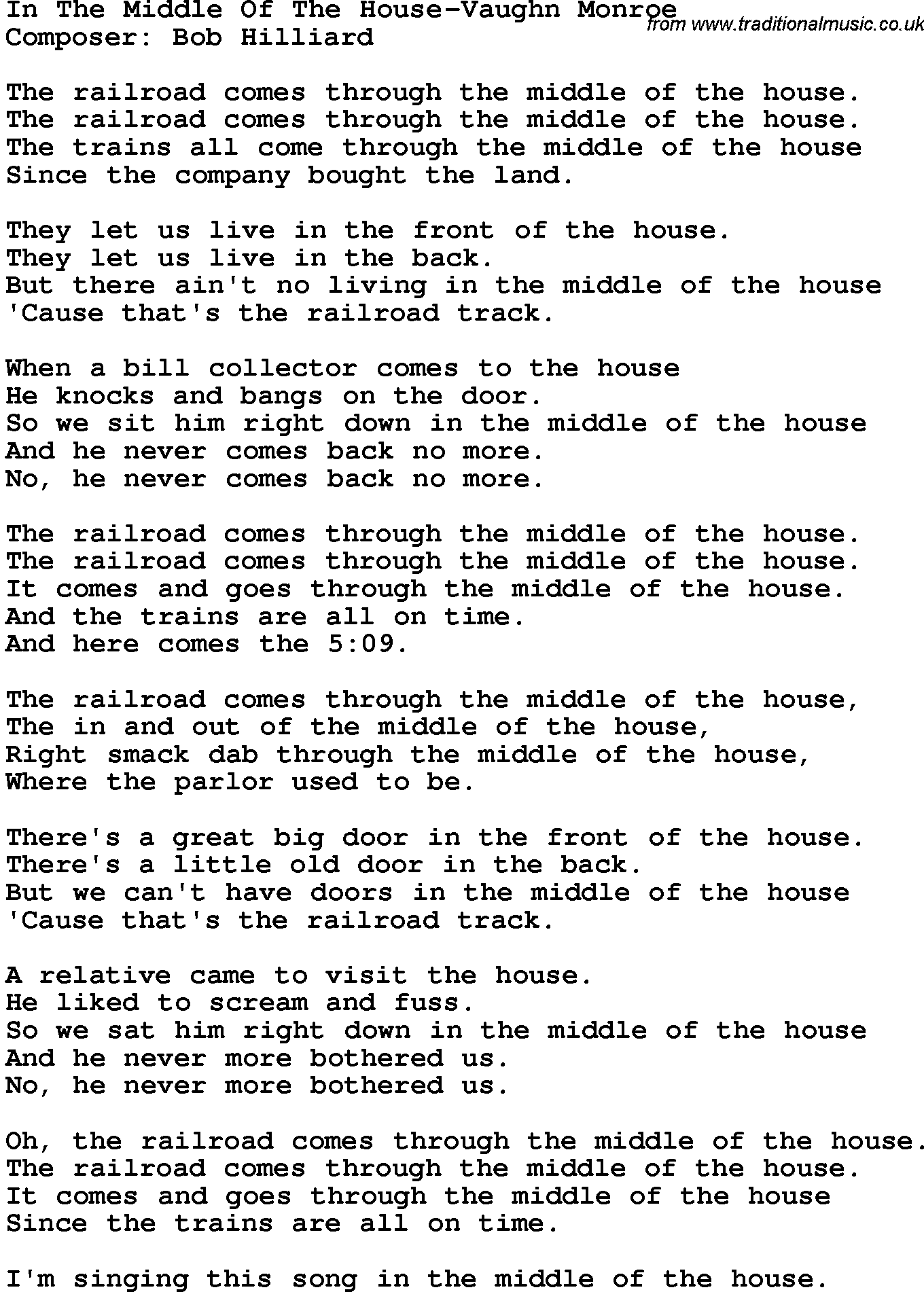 Our House Lyrics by Madness - Lyrics On Demand