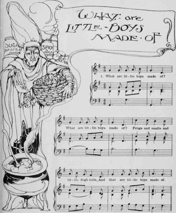 Old english nursery songs with sheetmusic p0129 for Classic house tracks list