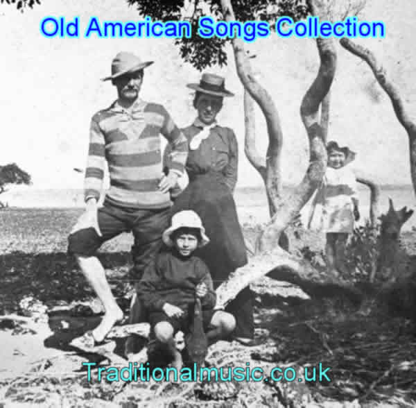 Old American Lyrics Collection of 700 songs, Start page and