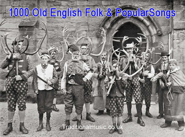 A Collection of 1000+ Old English Popular and folk songs