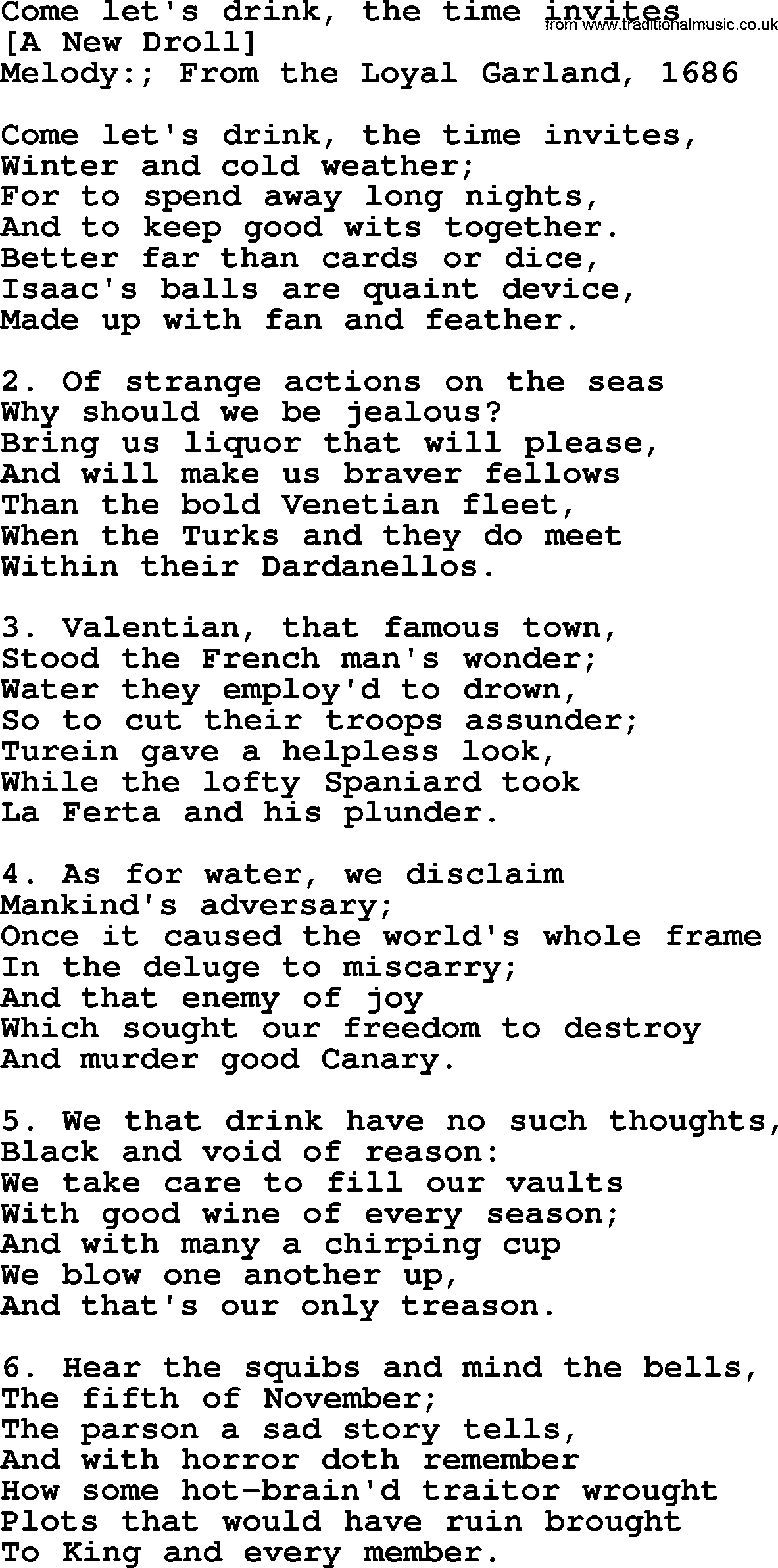 Old english song lyrics for come lets drink the time invites with pdf old english song come lets drink the time invites lyrics stopboris Images