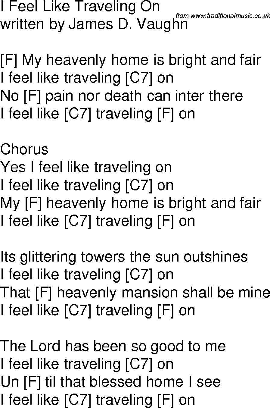 download traveling song will