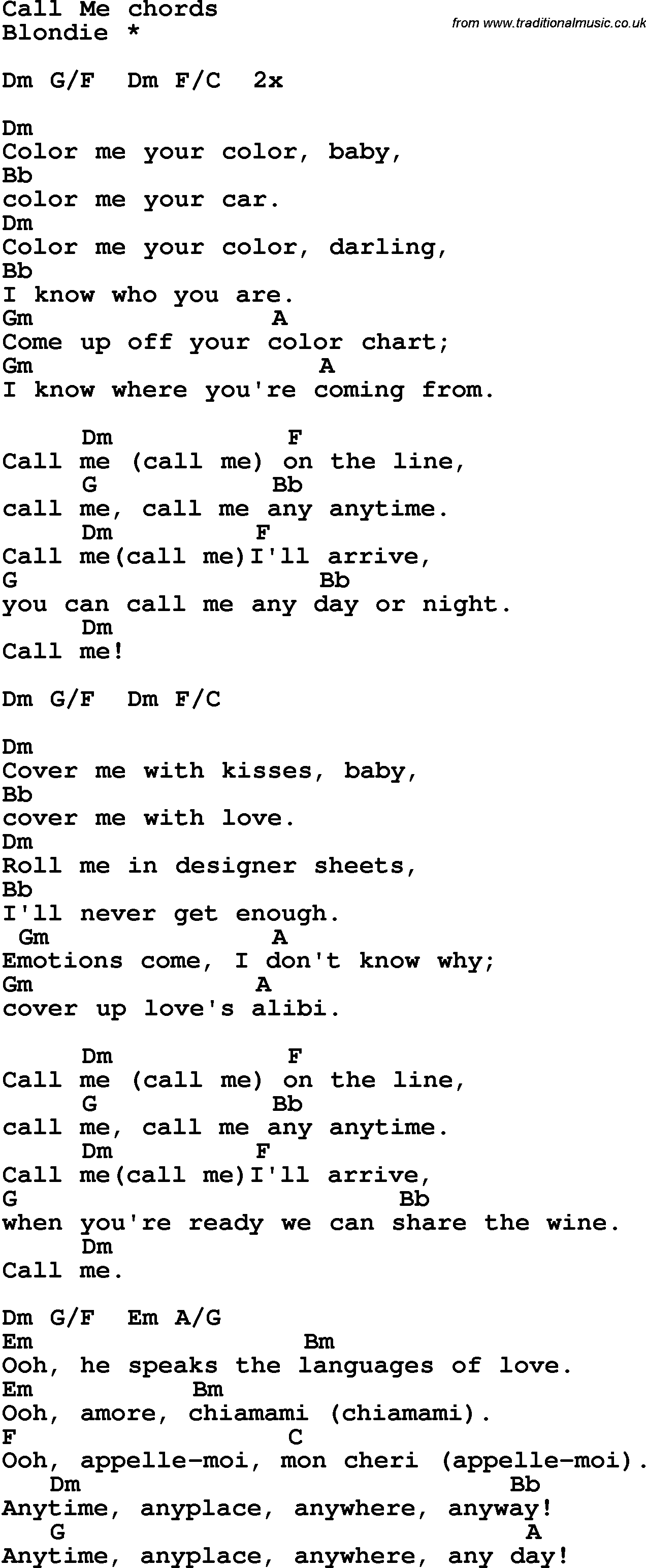 Call Me Maybe Guitar Chords submited images.