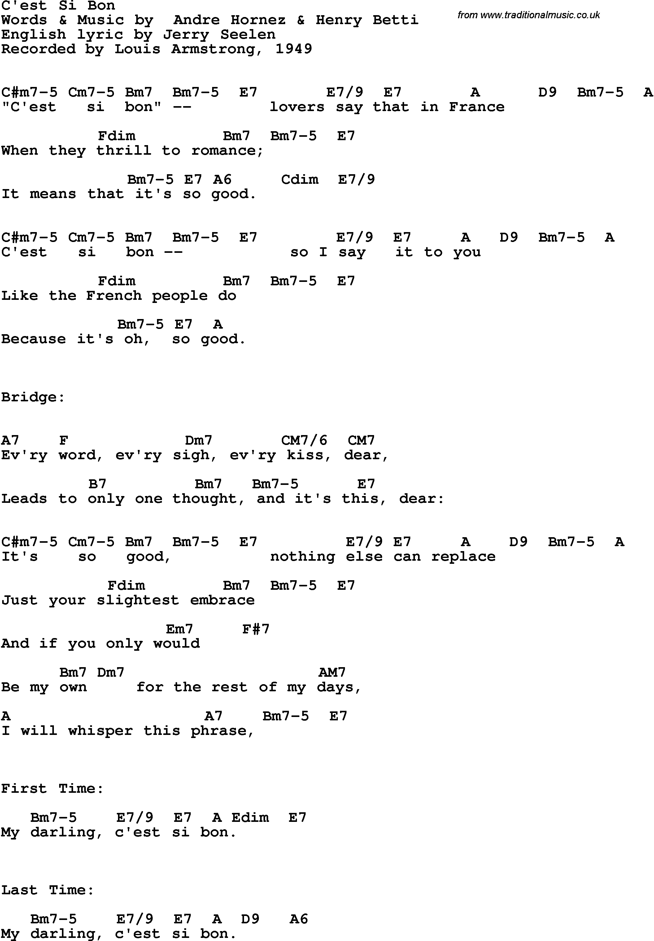 Music lyrics with guitar