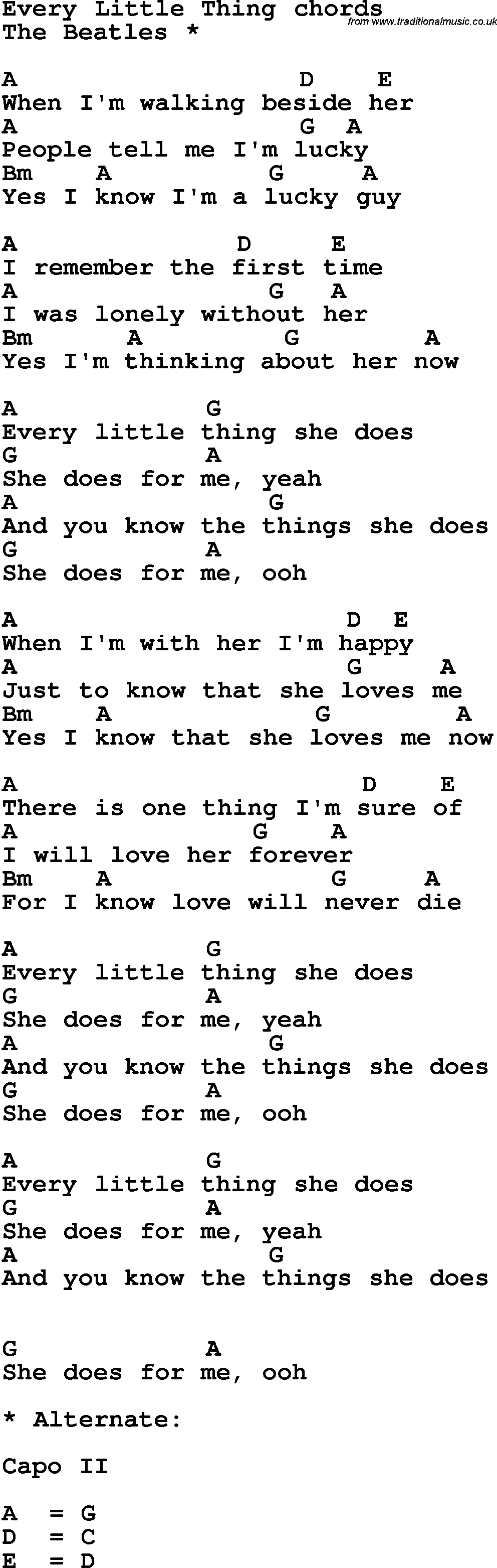 Song lyrics with guitar chords for every little thing song lyrics with guitar chords for every little thing hexwebz Images