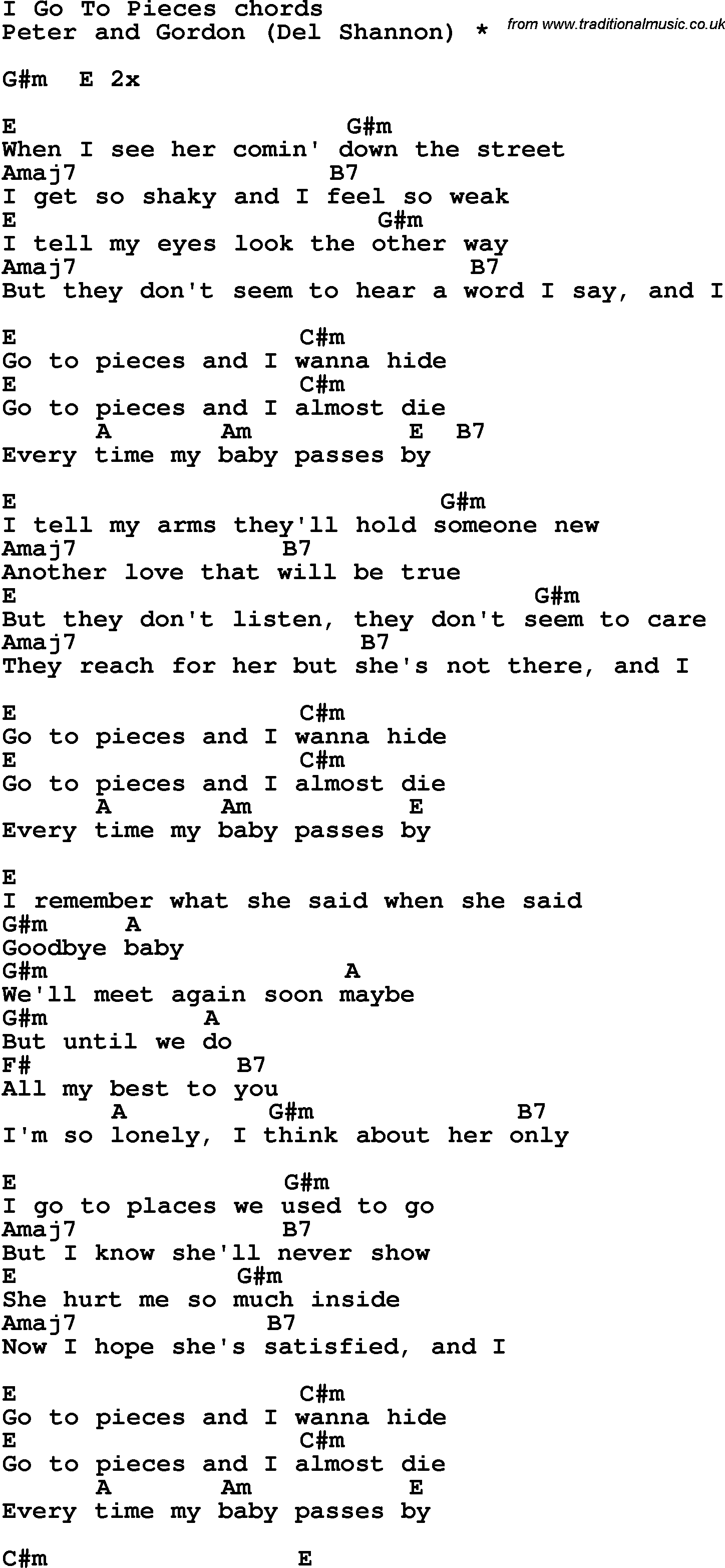 Song lyrics with guitar chords for i go to piece song lyrics with guitar chords for i go to piece hexwebz Image collections