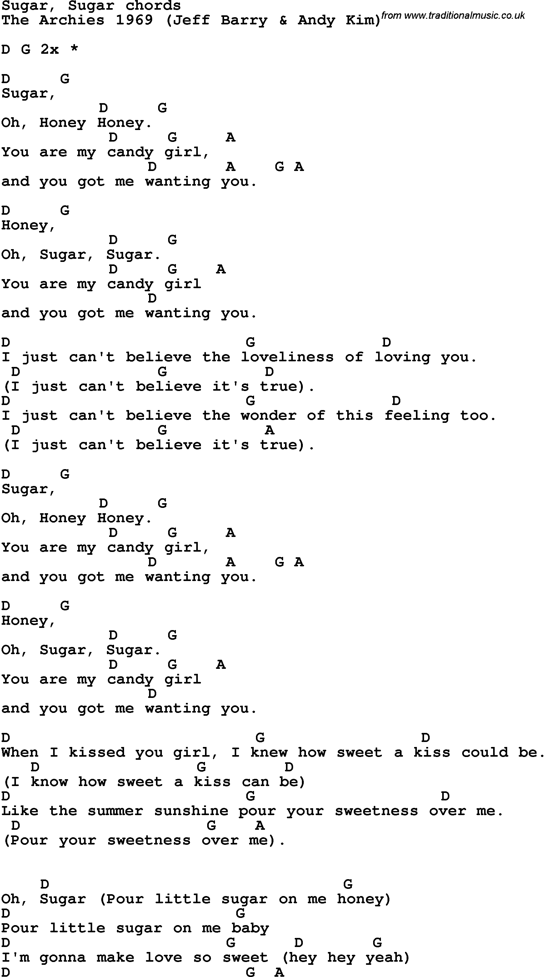 Just a boy guitar chords