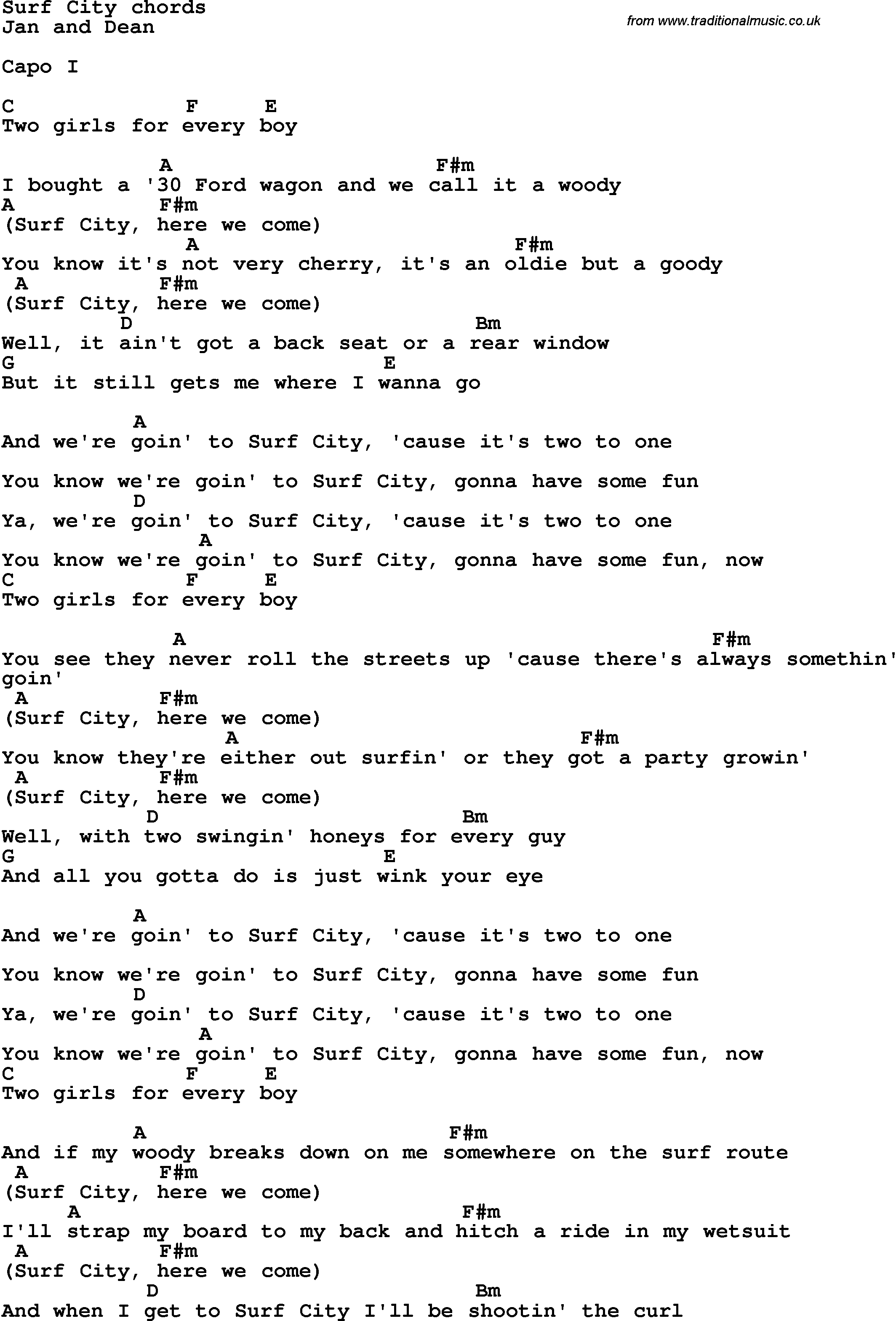 Ka'au Crater Boys – Surf Lyrics | Genius Lyrics