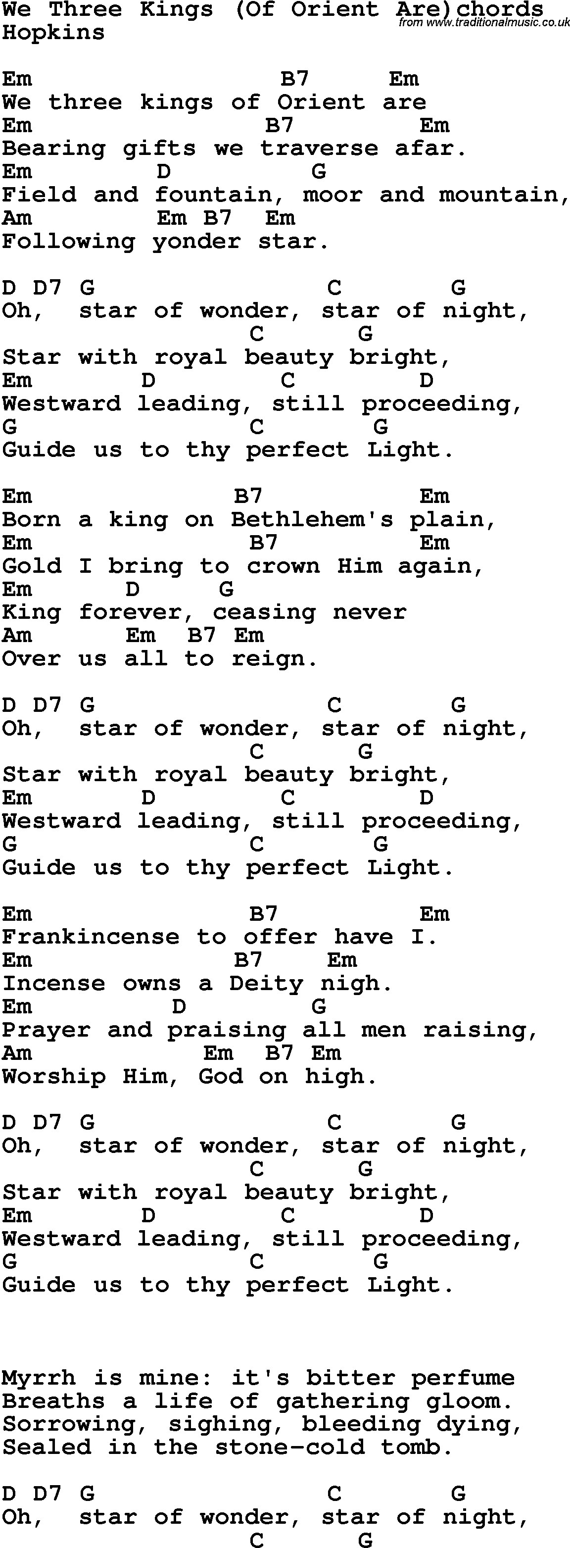 Pics Photos - We Three Kings Lyrics