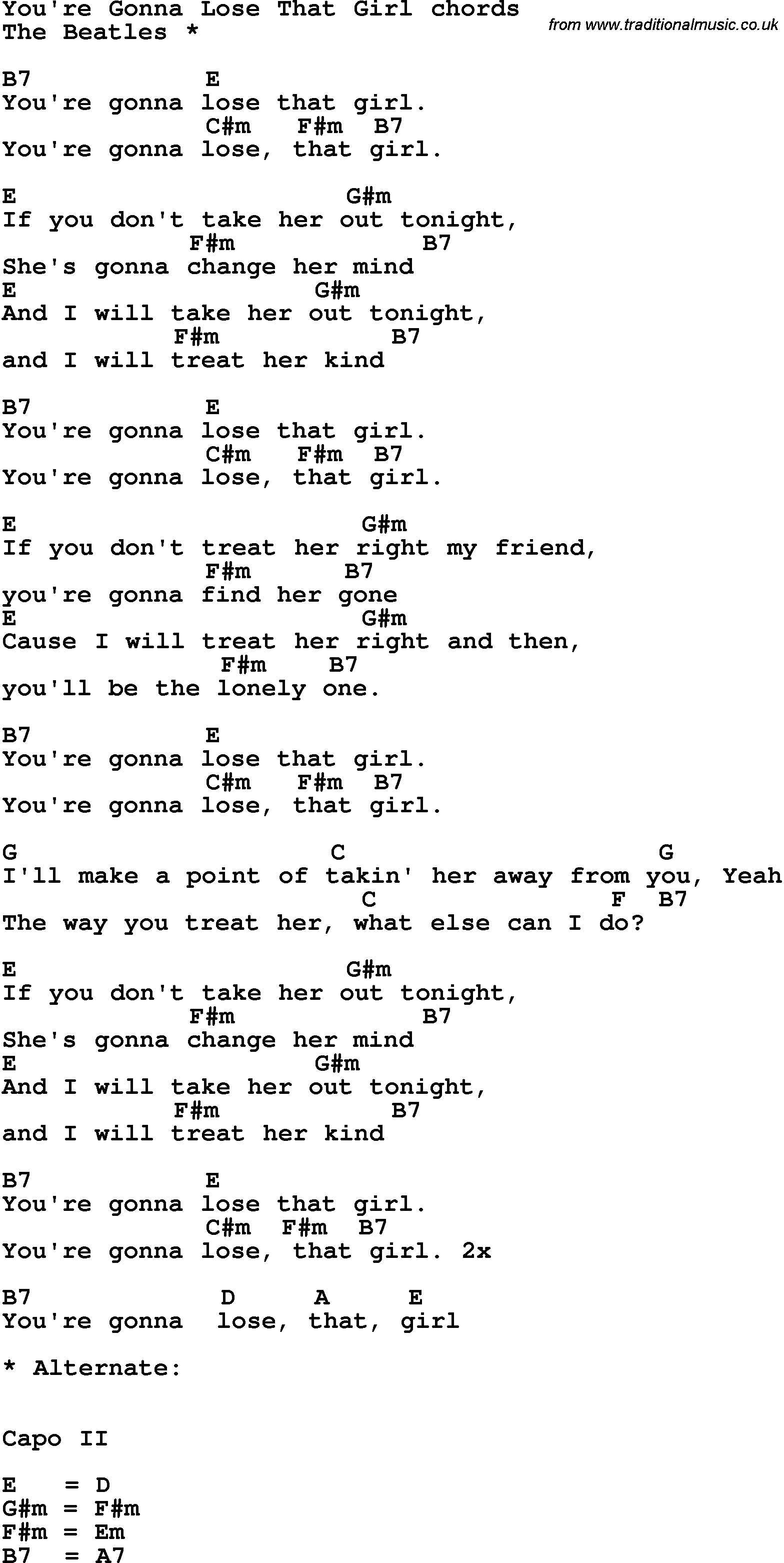 Songs for a girl youre dating
