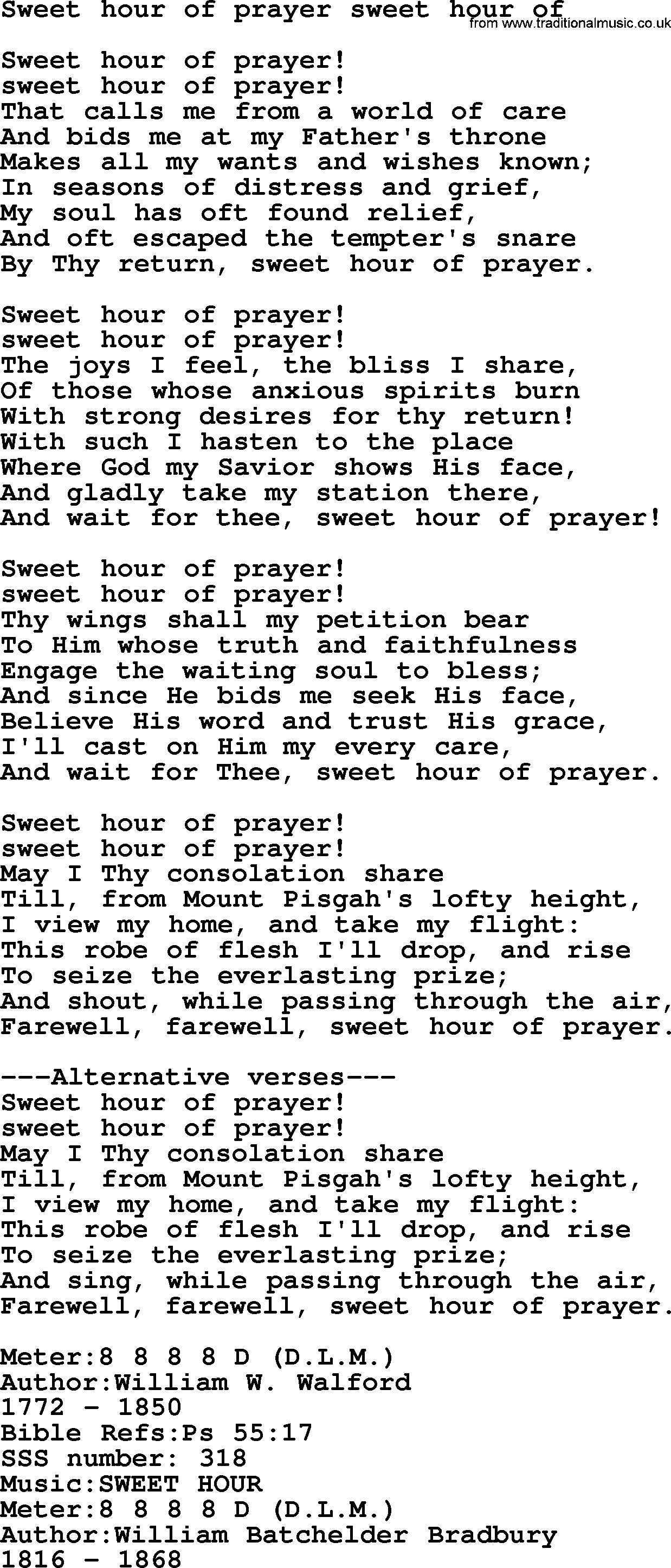 Sacred Songs and Solos complete(words version), Song: Sweet