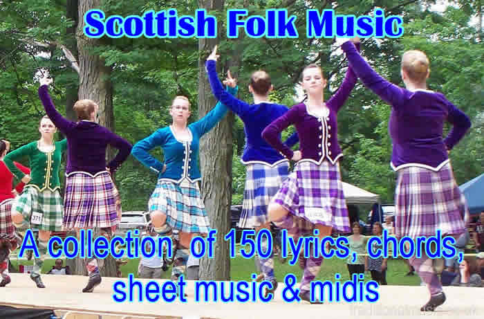 Scottish folk music tune-book and songbook