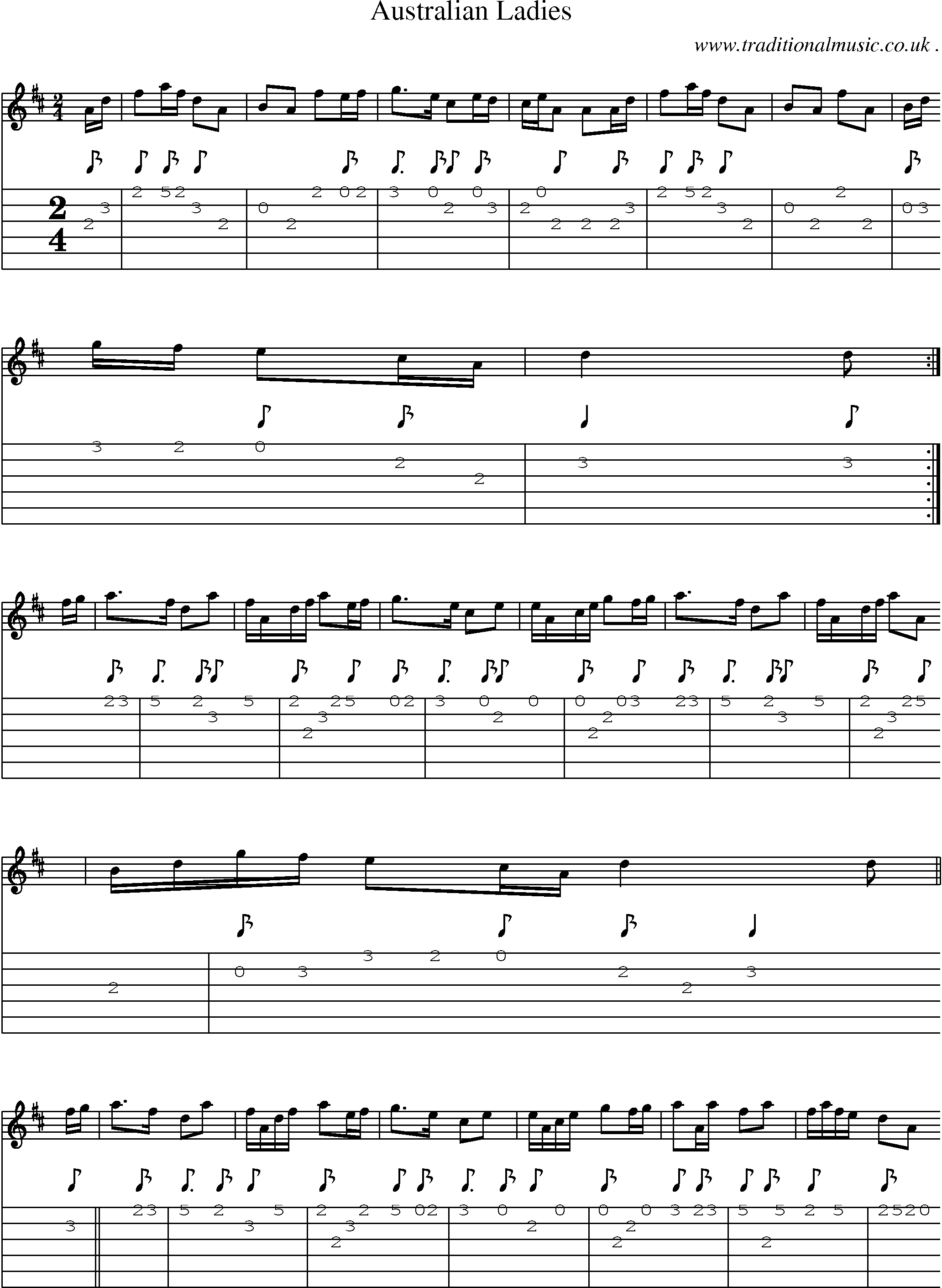 we are australian sheet music pdf