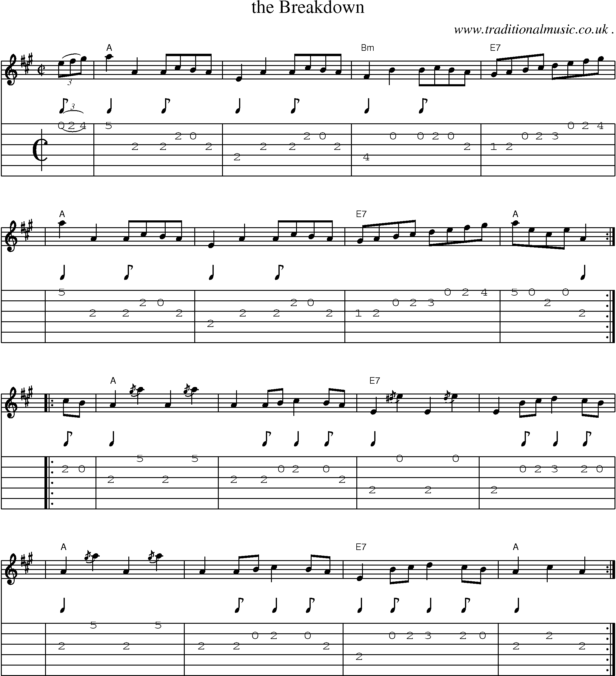 Scottish Tune Sheetmusic Midi Mp3 Guitar Chords Tabs The
