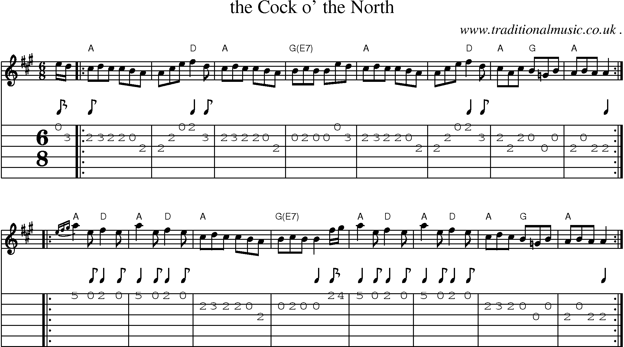 Want have bagpipe tune cock of the north dejo