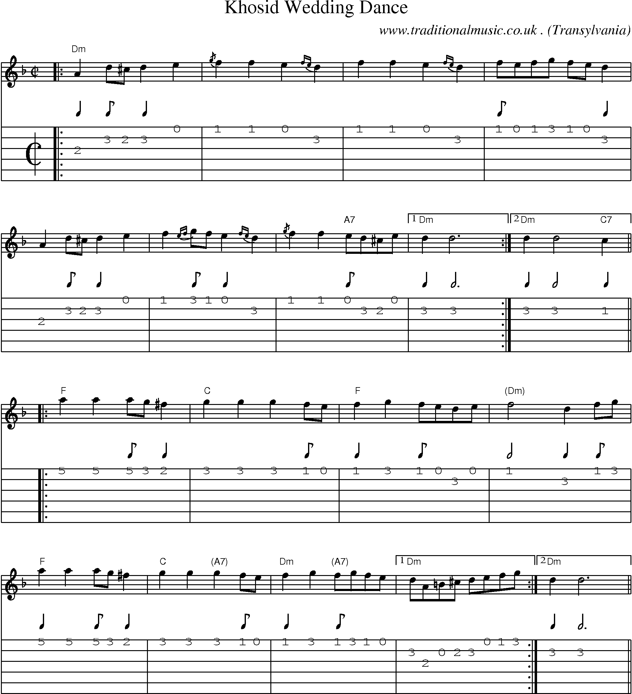 Common Session Tunes Scores And Tabs For Guitar
