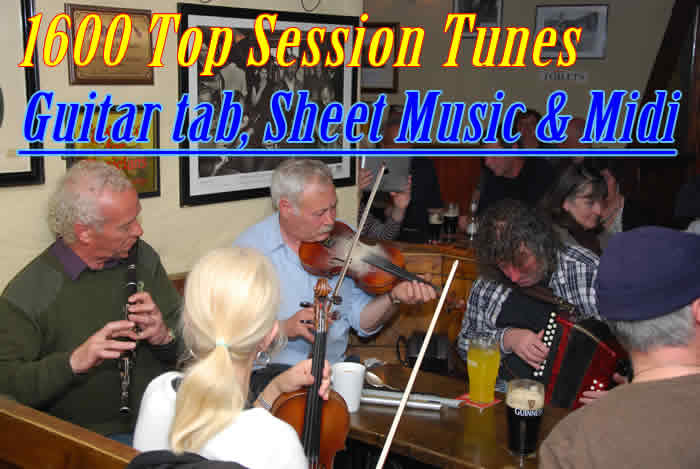 Common Session tunes from Bluegrass, Old-time, English, Canadian ...