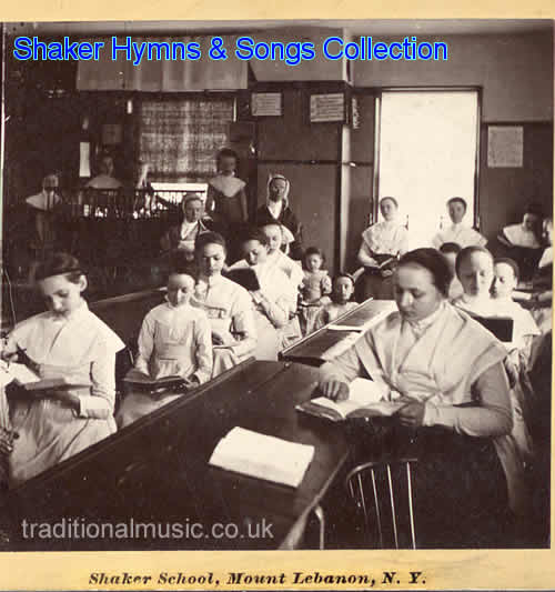 Shaker Music Collection - start page and titles list