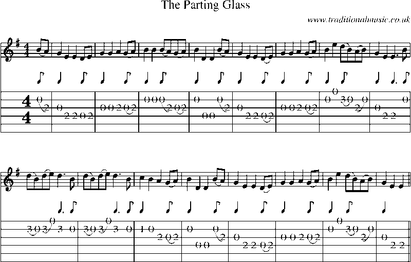 Software have announced their a parting glass with news, lyrics,
