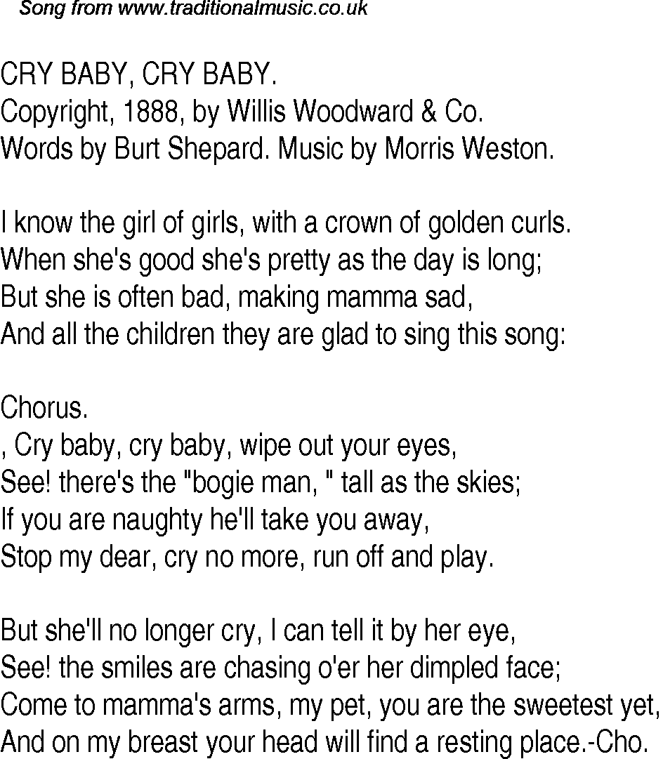 how to play cry for the bad man