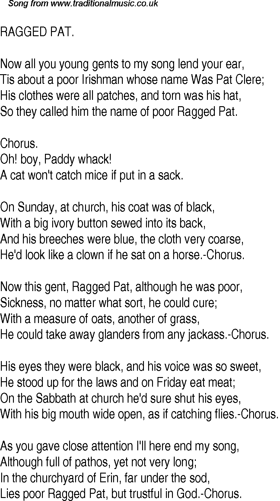 cat in the hat song lyrics