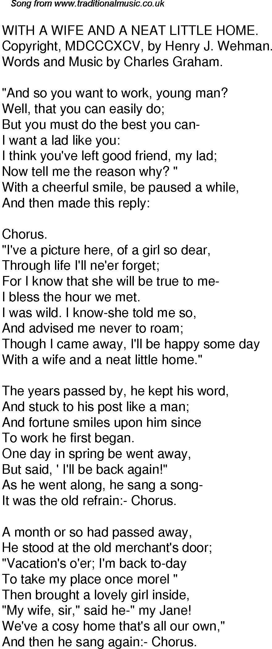 my wife met my girlfriend lyrics