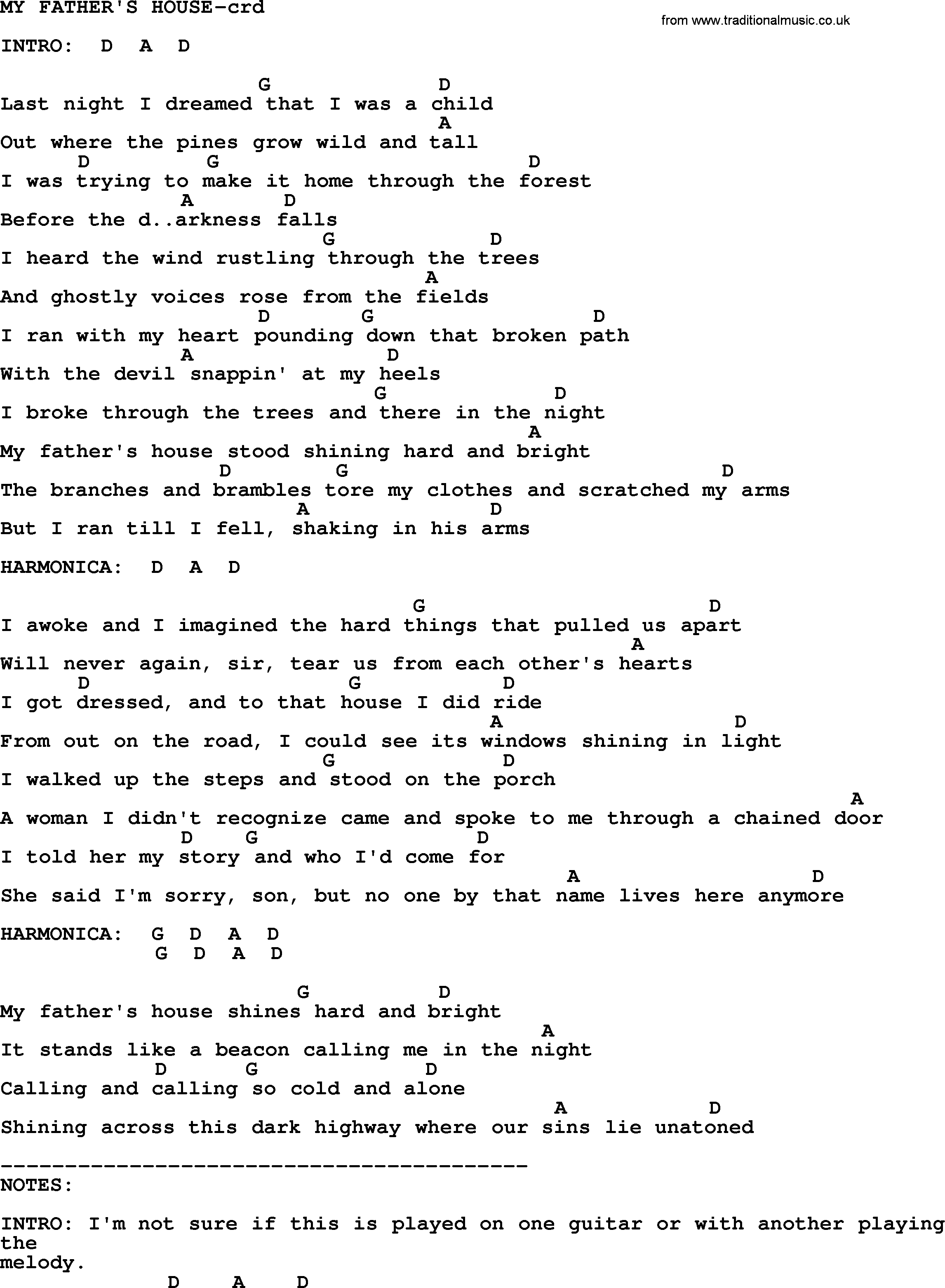 springsteen song my father s house lyrics and chords bruce springsteen song my father s house lyrics and chords