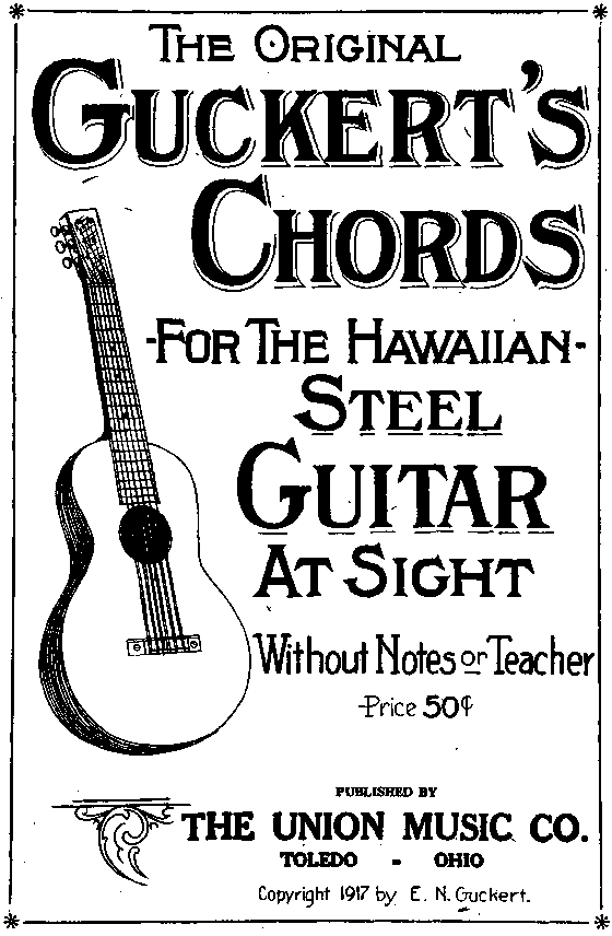 Hawaiian Steel Guitar A Simple Chord Based Tutor