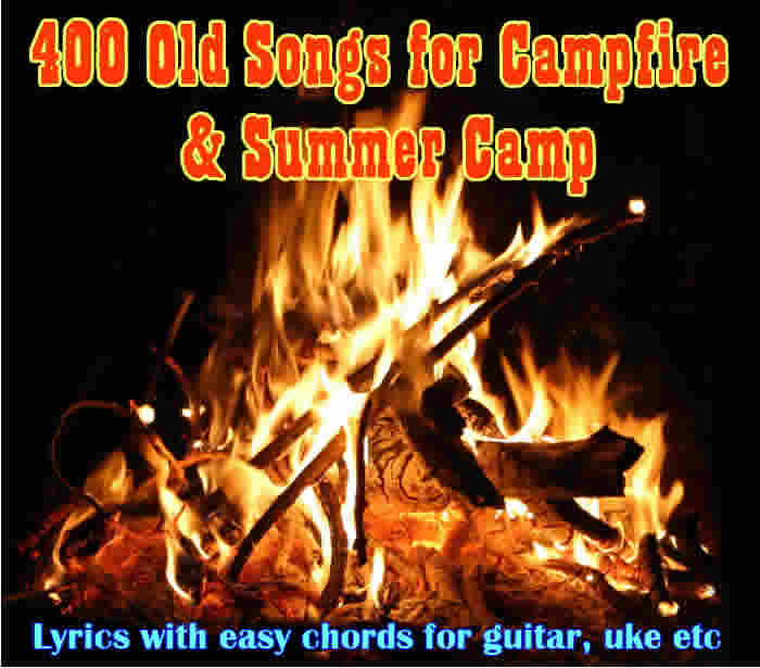 Summer Camp Kids All Age Song Book With Chords And Lyrics Titles