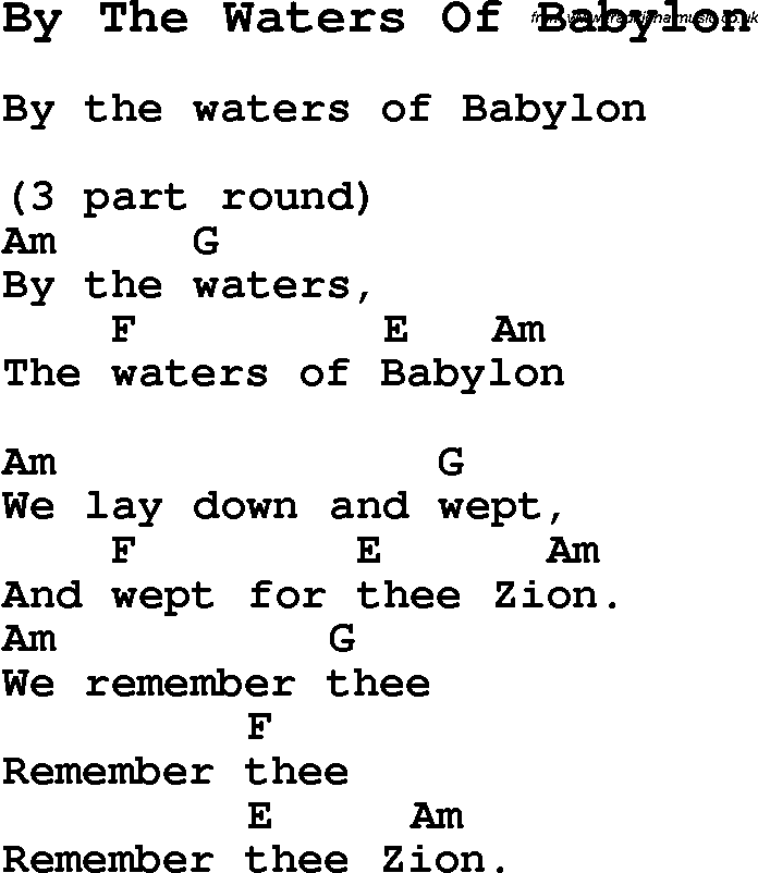 "by the waters of babylon 2 essay Papers by the waters of babylon by the waters of babylon  baby babylon water waters this short story by stephen vincent benet, is what we call ""an apocalyptic."