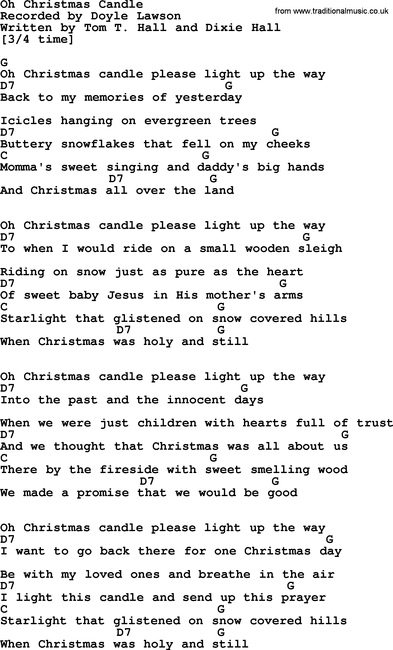 Oh christmas candle bluegrass lyrics with chords bluegrass song oh christmas candle lyrics and chords hexwebz Choice Image