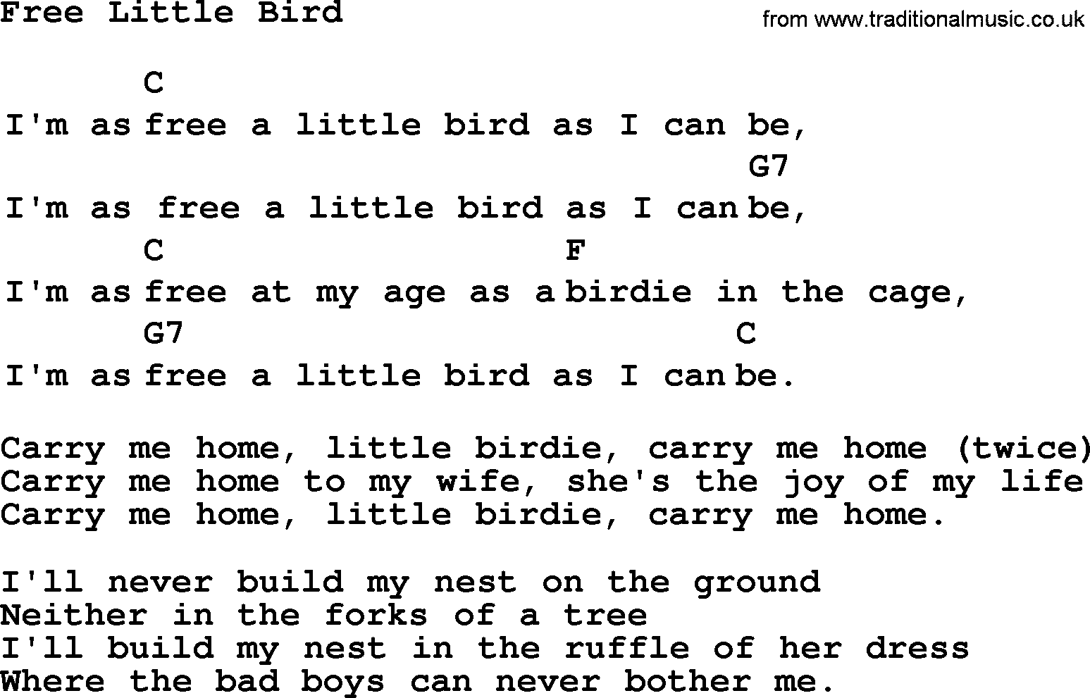 Top 1000 Folk And Old Time Songs Collection Free Little Bird