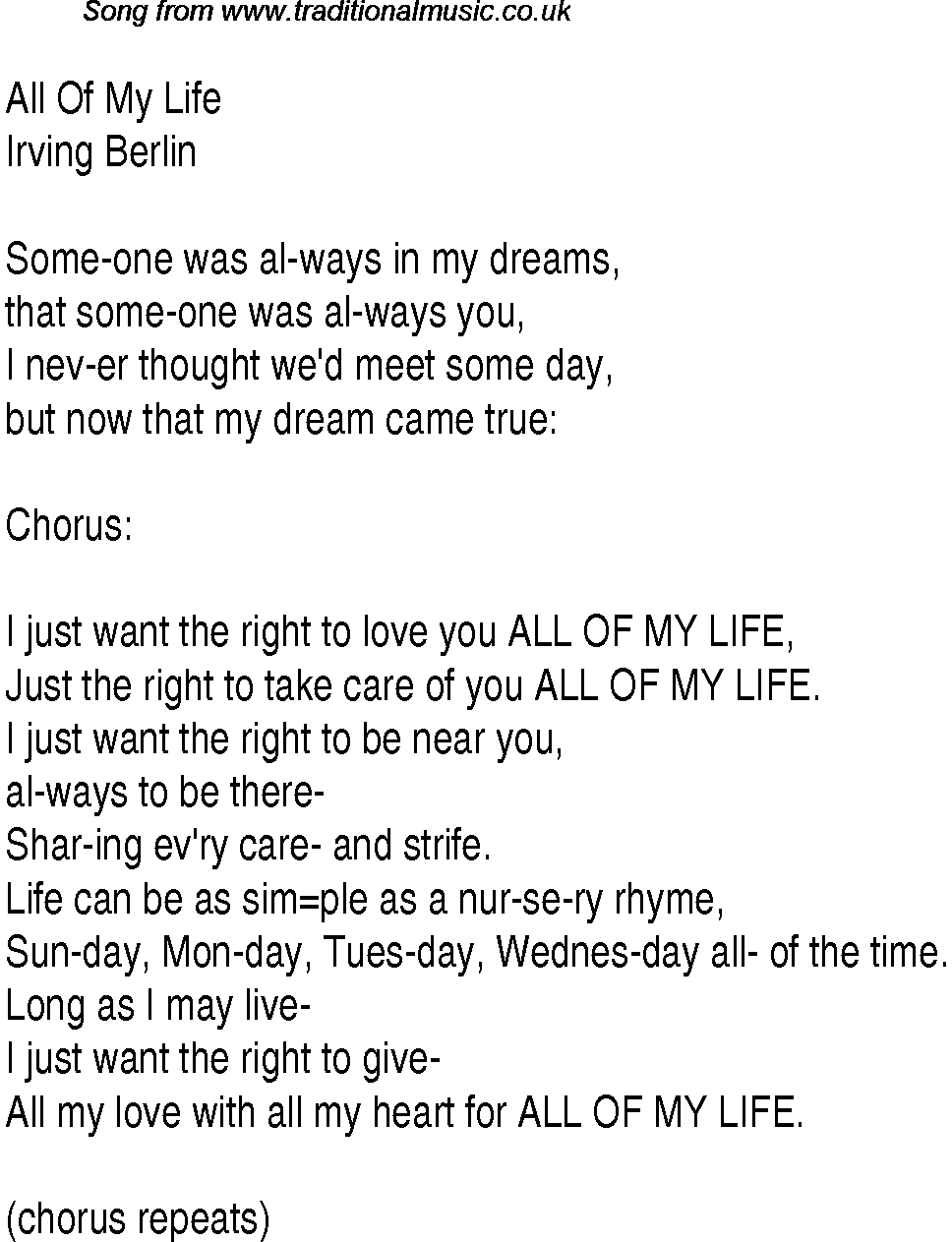 Ur the meaning in my life lyrics