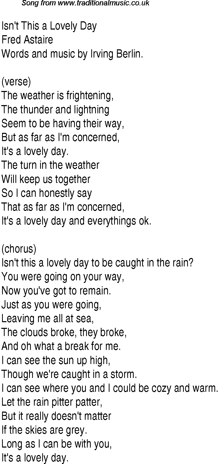 Bill Withers - Lovely Day Lyrics | MetroLyrics