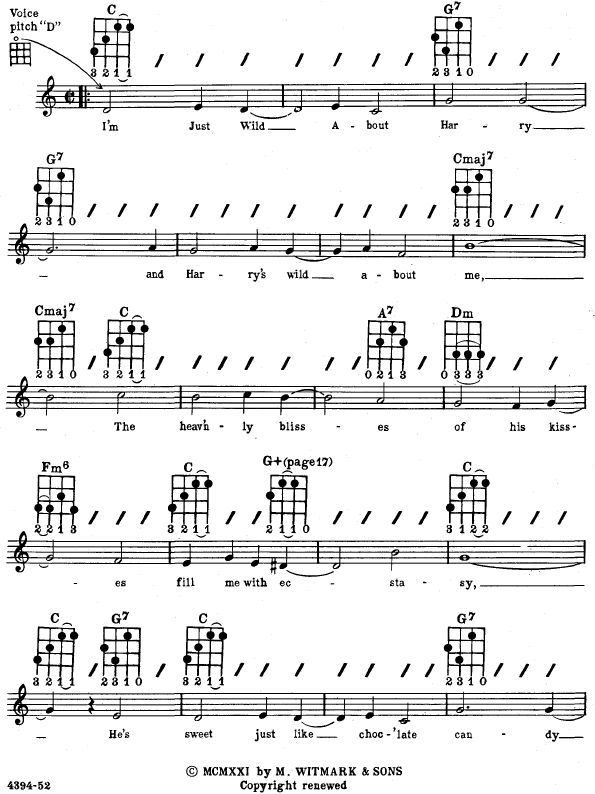 Ukulele u00bb Most Used Ukulele Chords - Music Sheets, Tablature, Chords and Lyrics