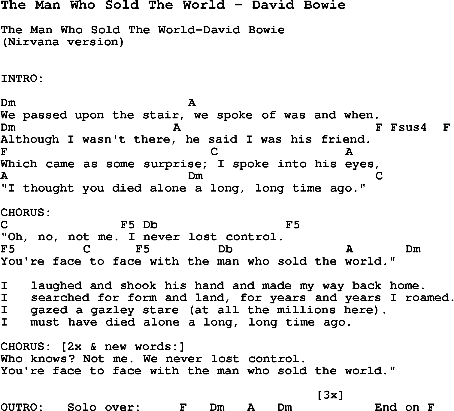 we are the world lyrics pdf