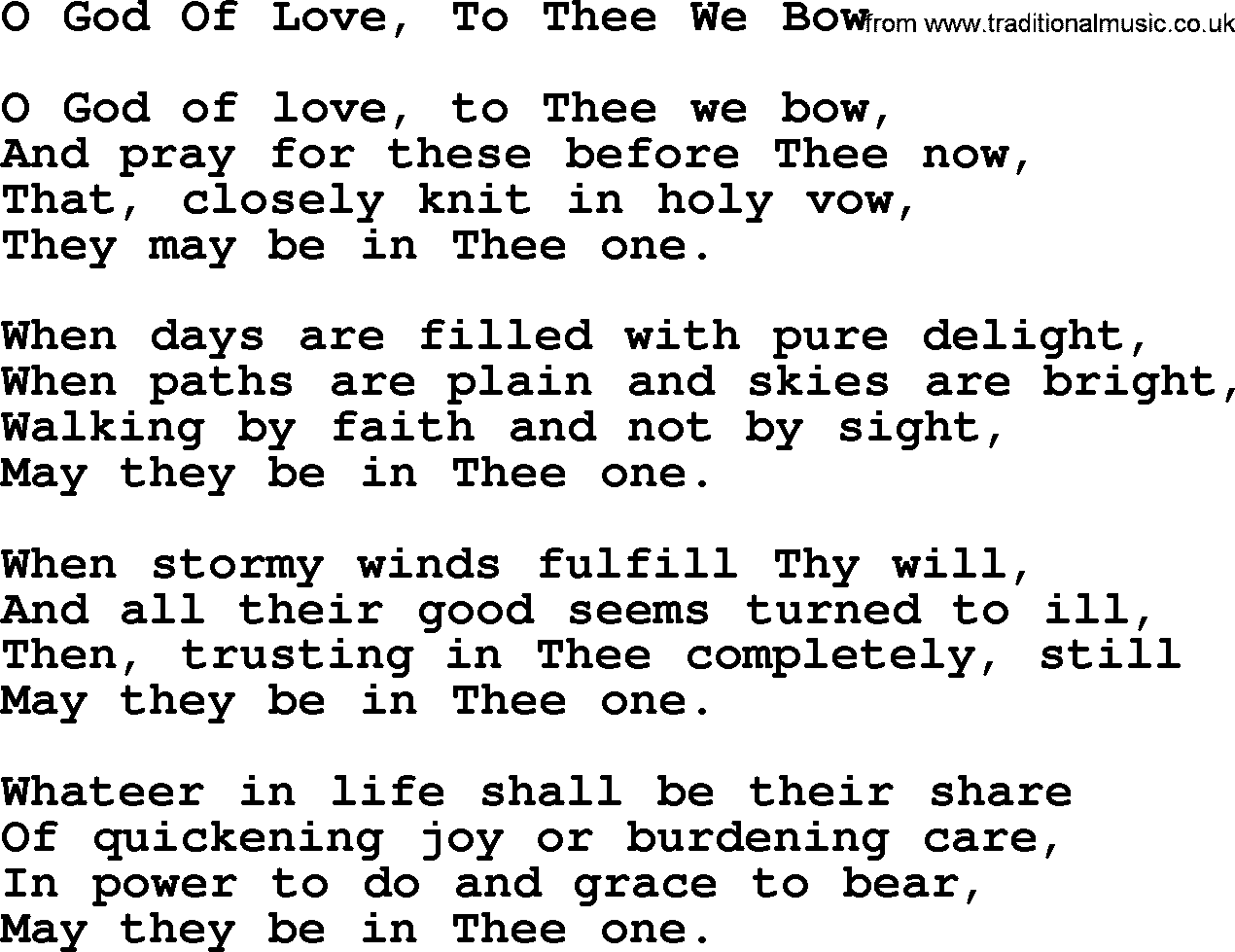 nearer my god to thee chords pdf