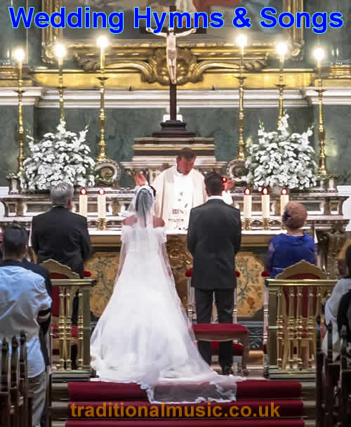 A Collection Of The Top 100 Most Popular Christian Wedding Hymns