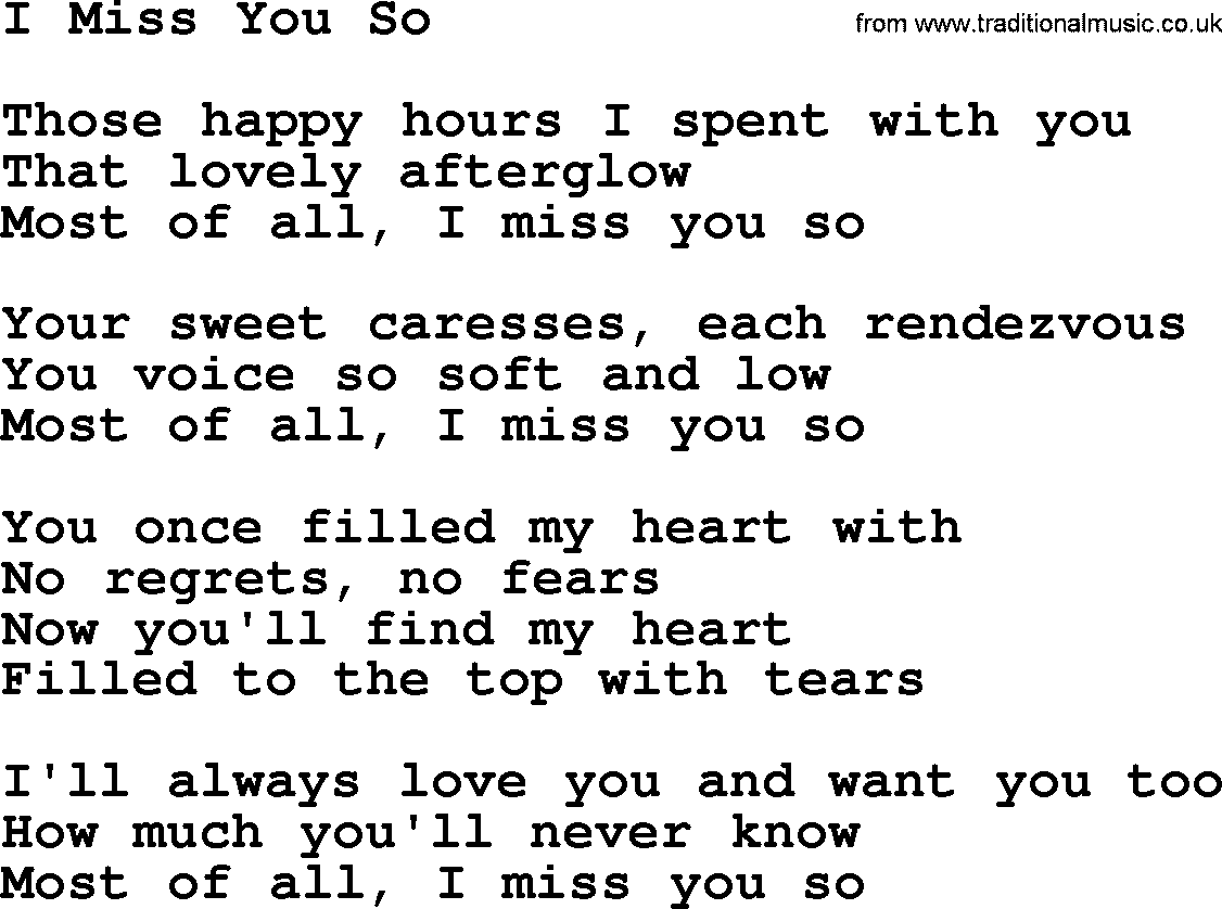 Blink 182 - I Miss You Lyrics | MetroLyrics