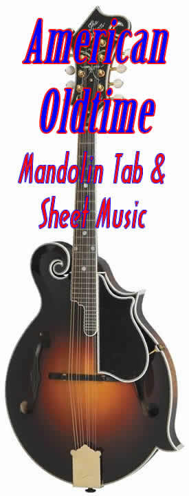 Mandolin mandolin tabs and chords : American Old-time music - sheet-music scores with chords, tabs for ...