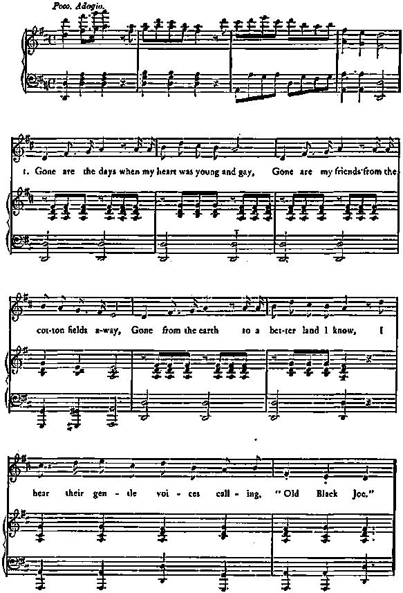 Melodies Of Stephen C. Foster, sheet music, lyrics P 0281