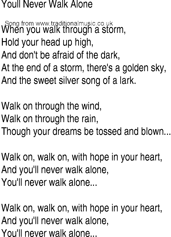 Lyric rain song lyrics : Irish Music, Song and Ballad Lyrics for: Youll Never Walk Alone