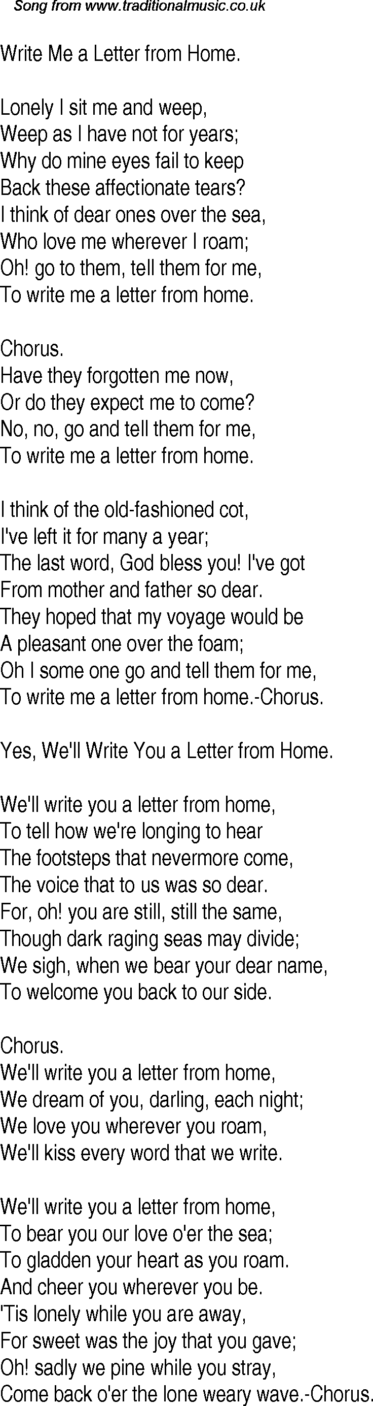 letters from home song letters from home song how to format cover letter 23333