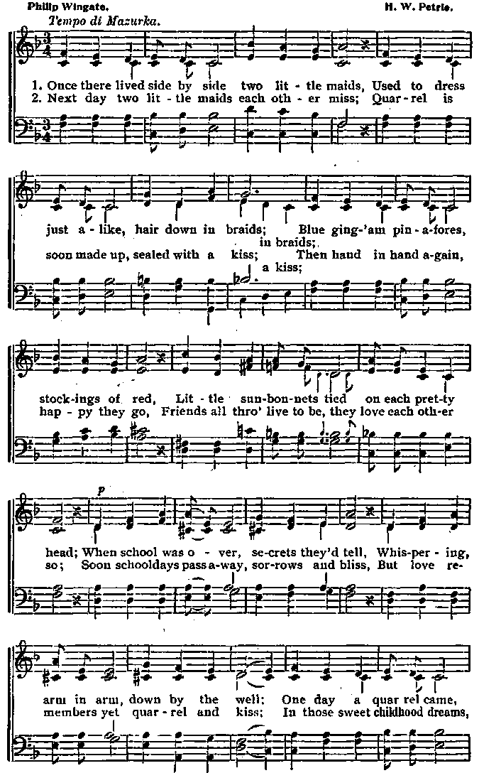 Lyric grand piano lyrics : The Tunes Dad Whistled - tune-book P0126
